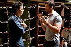 Scene from REAL STEEL