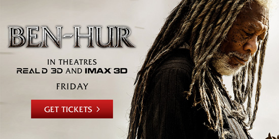 Ben Hur in Theaters Friday