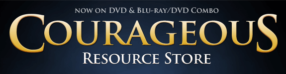 Courageous on DVD Store Header