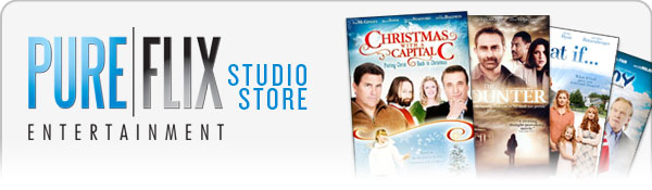 PureFlix Entertainment Store Header