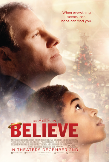 Believe's Billy Dickson Wants to Tell a Story of Hope