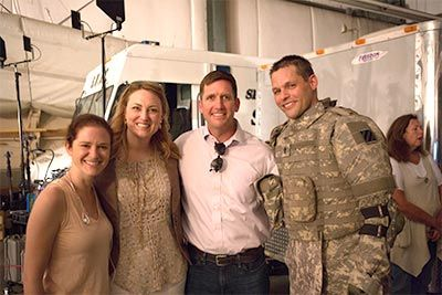 Real Life Chaplain Darren Turner & His Wife Share About Marriage, Military Experience, & the Movie Indivisible
