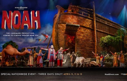 Noah: Sight & Sound Focuses on God's Grace and Mercy